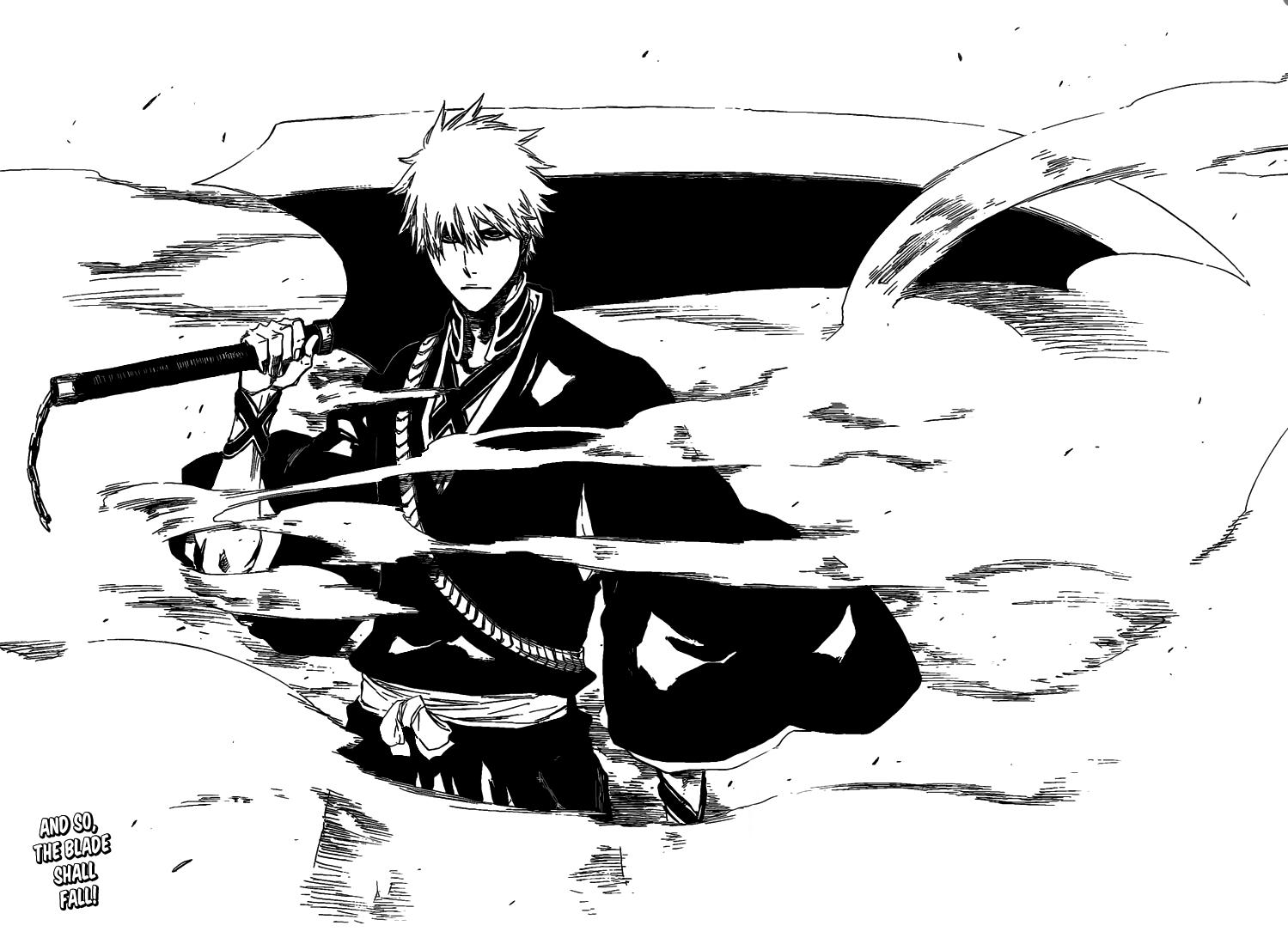 Ichigo Kurosaki New Sword Zanpakuto