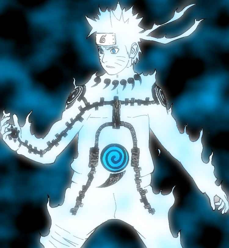 Naruto Six Paths Sage Kurama
