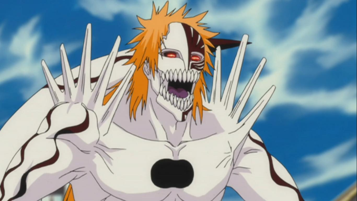 New Hollow Ichigo Form! Hollow Ichigo Appears Again! Bleach 337 ...