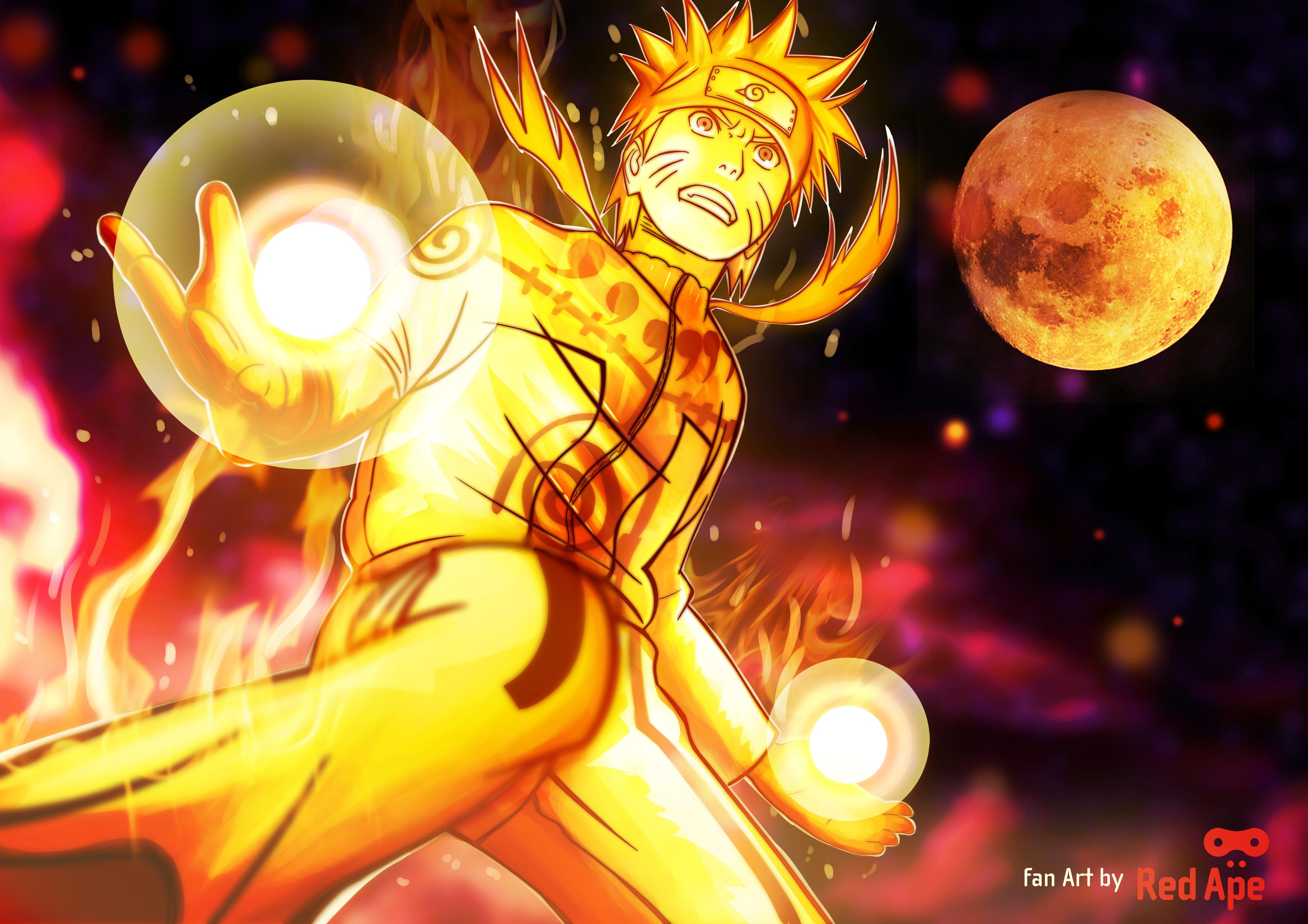 Mode Naruto Chakra Mode Naruto Uzumaki Naruto's Chakra Mode Naruto