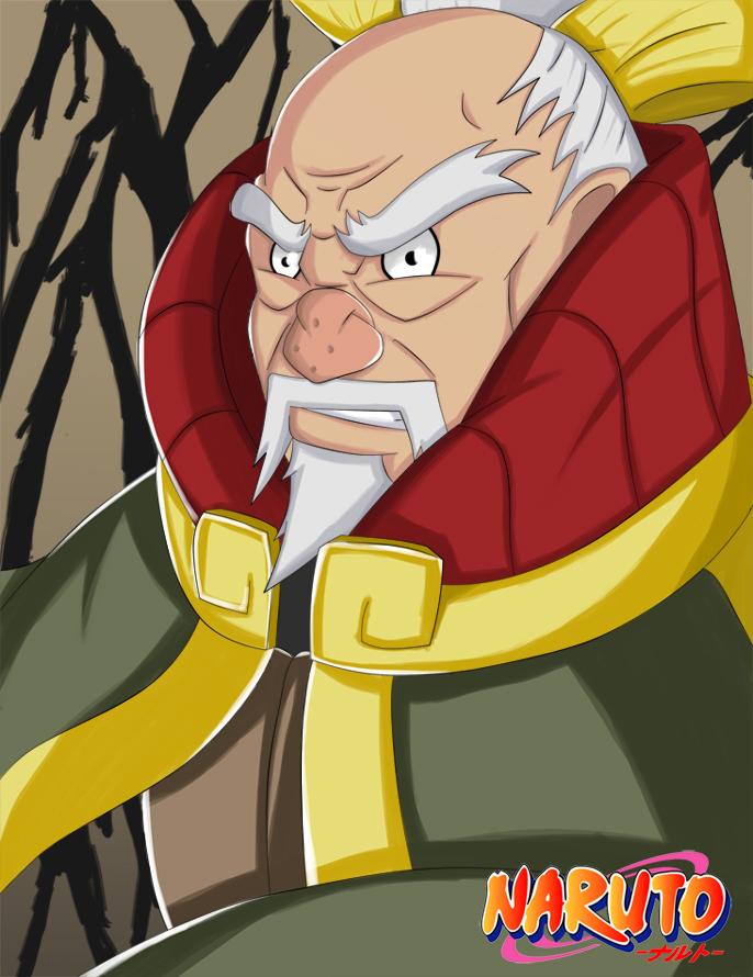 Onoki Third Tsuchikage - Naruto Shippuden   Daily Anime Art