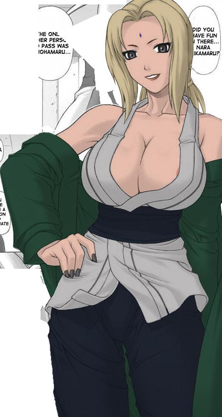 hot naked lady tsunade