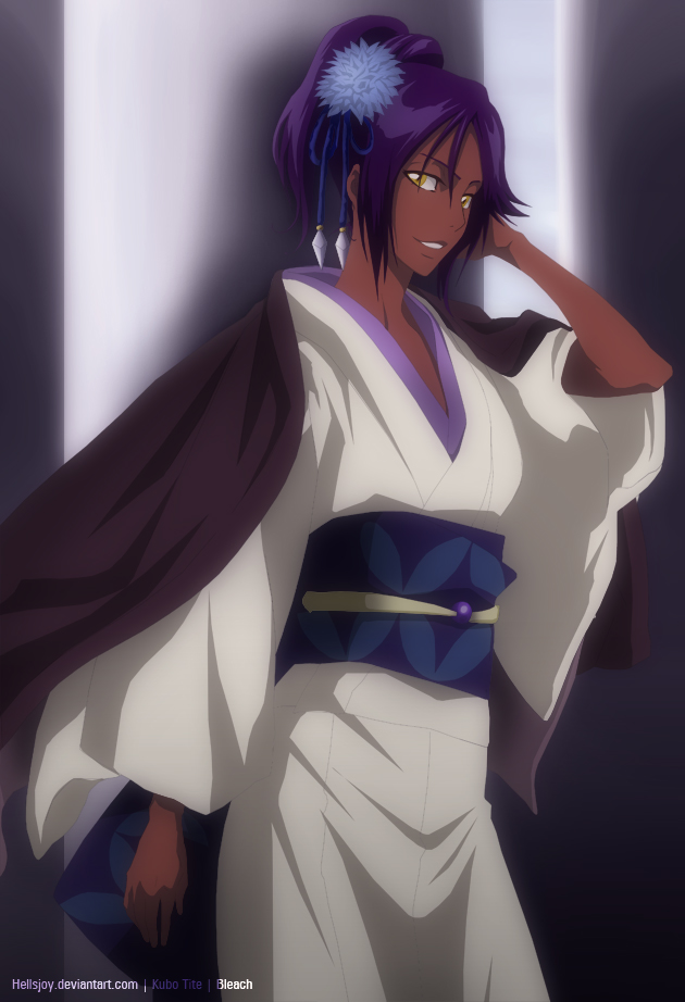 Yoruichi Shihouin Bleach Daily Anime Art