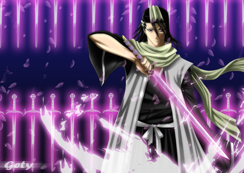 byakuya kuchiki 6th captain daily anime art