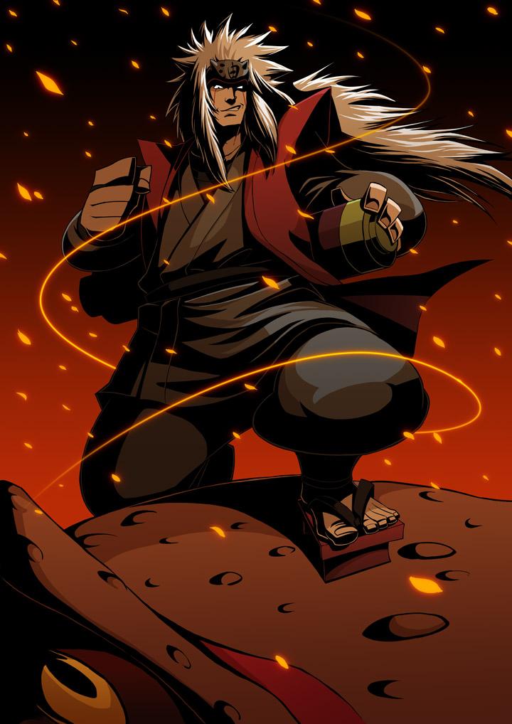Jiraiya naruto shippuden daily anime art - Manga naruto shippuden ...