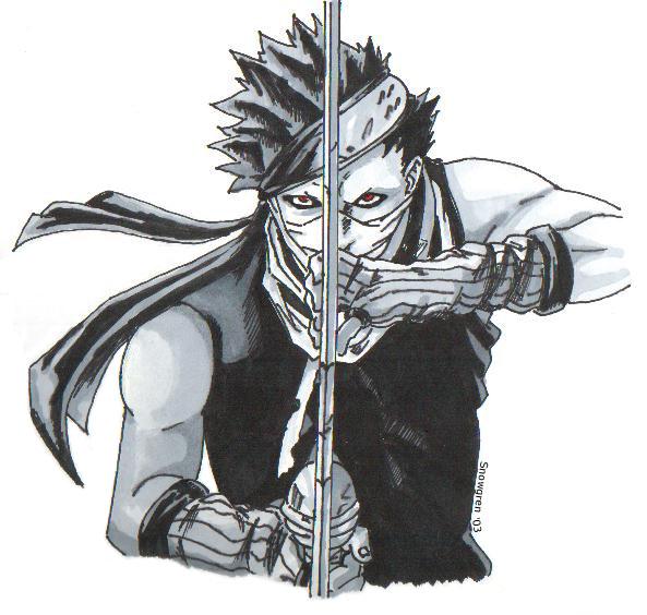 Zabuza Momochi (ANBU)   Daily Anime Art Zabuza Momochi Demon