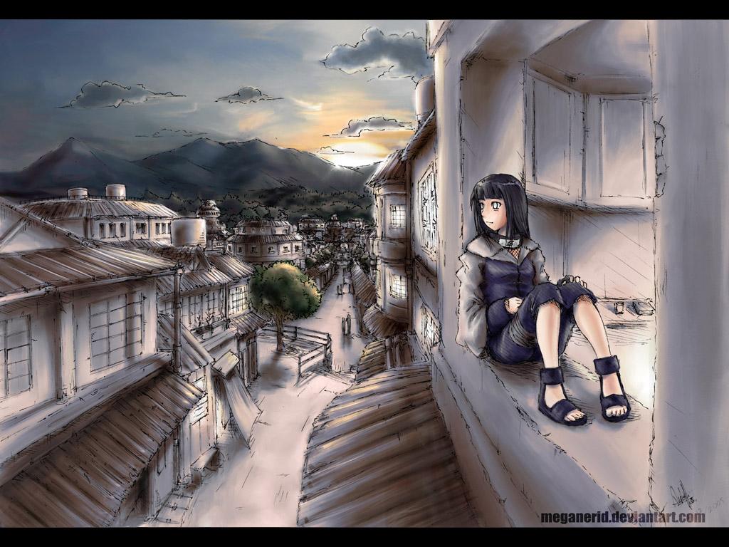 Hinata Hyuga - Team Kurenai | Daily Anime Art