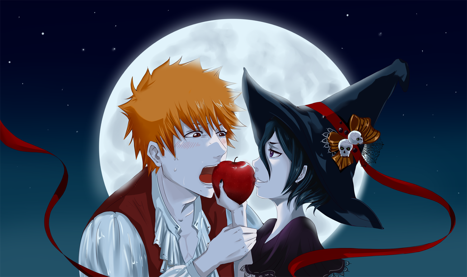 Anime Characters For Halloween : Bleach anime halloween daily art