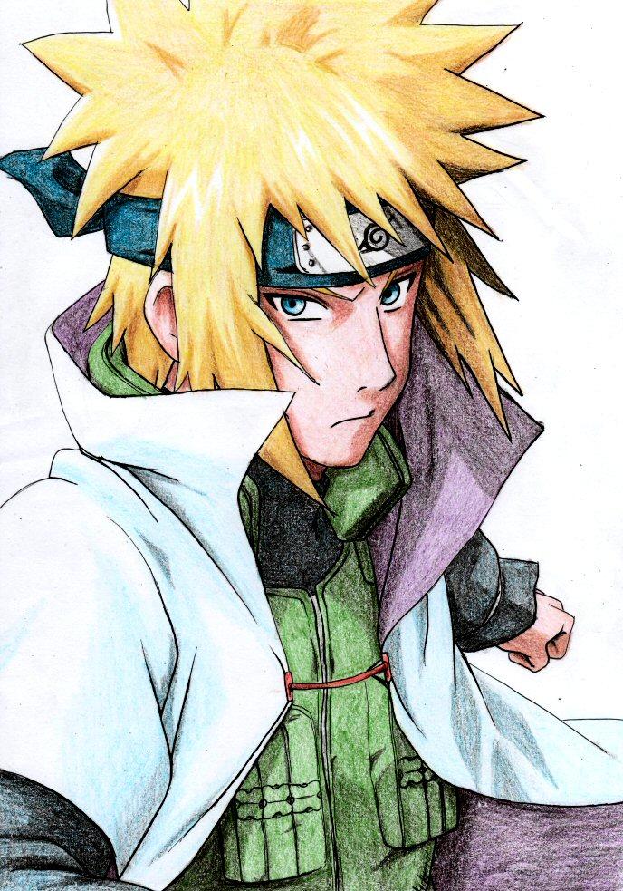 Minato Namikaze 4th Hokage | Daily Anime Art