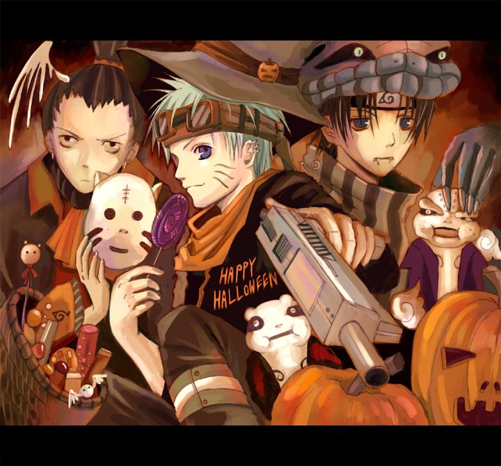 Naruto Anime Halloween 2011   Daily Anime Art