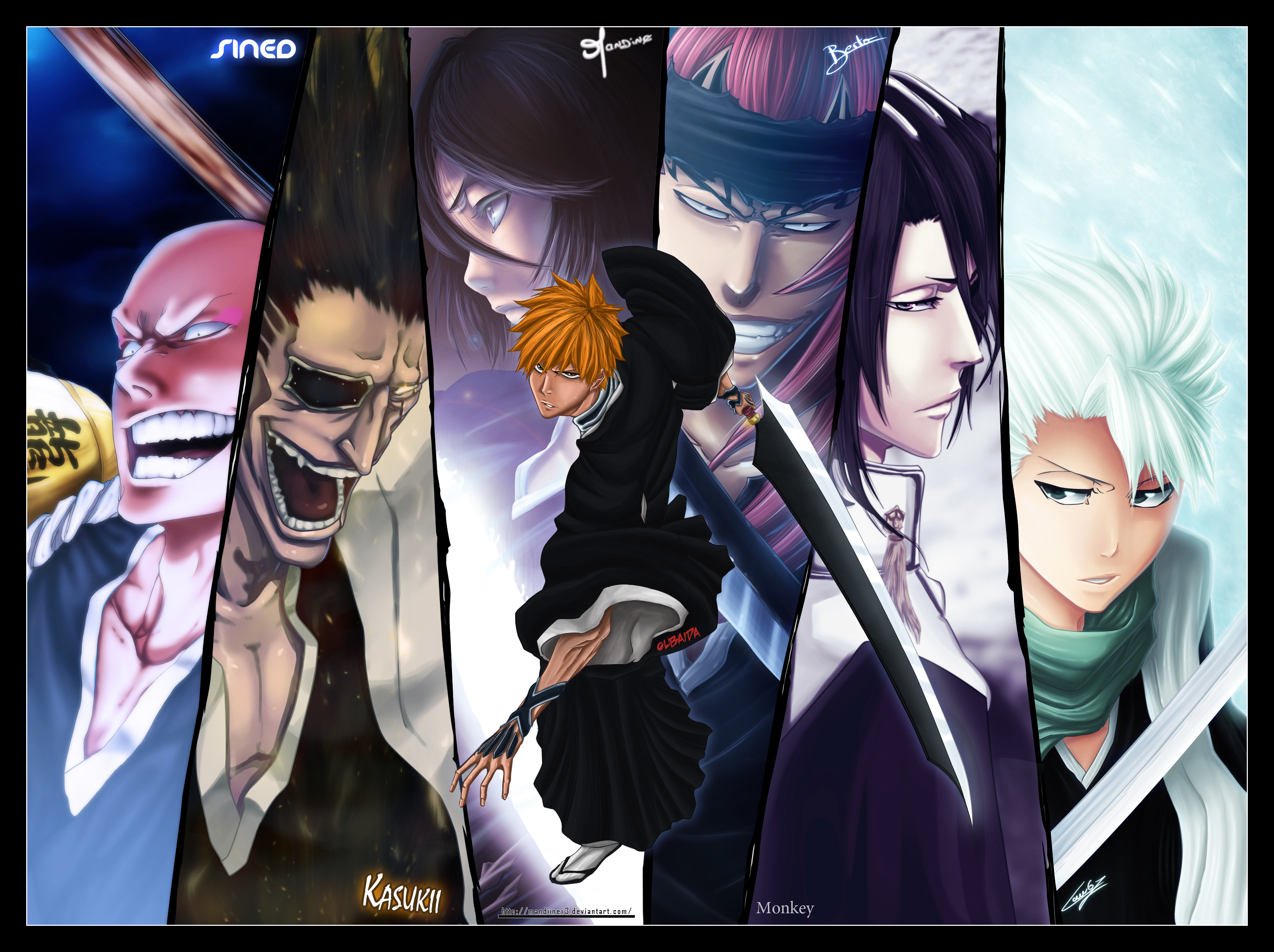 Bleach Kenpachi New Look