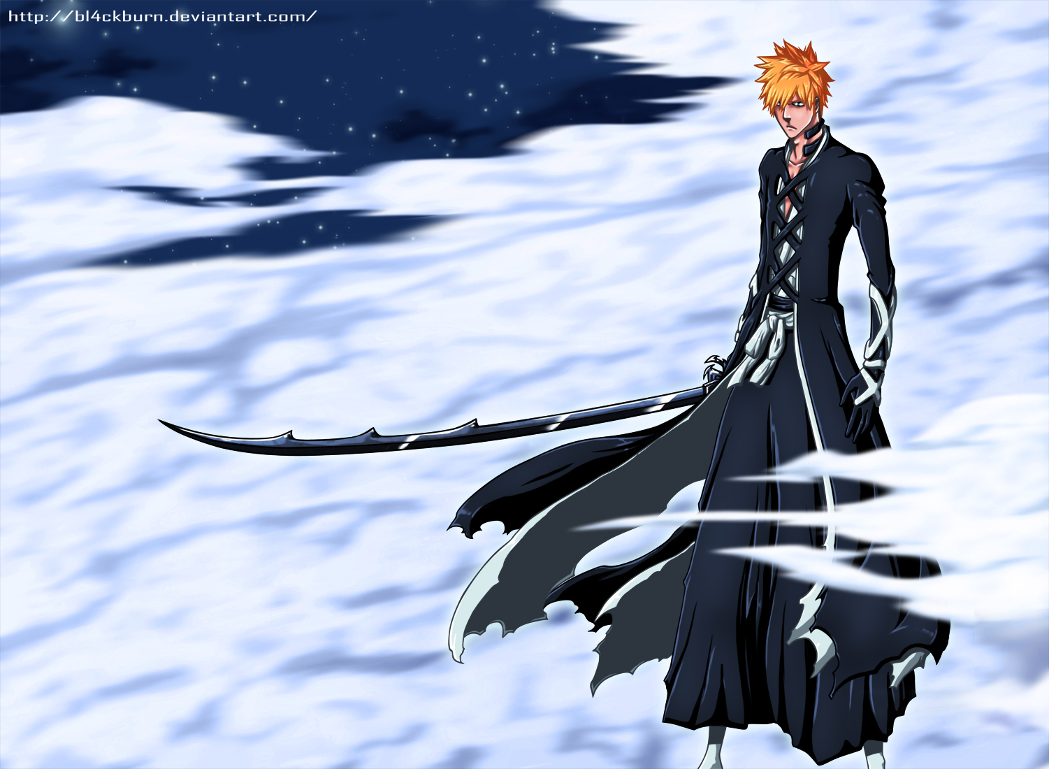 Ichigo's New Bankai Look! – Bleach 475 | Daily Anime Art
