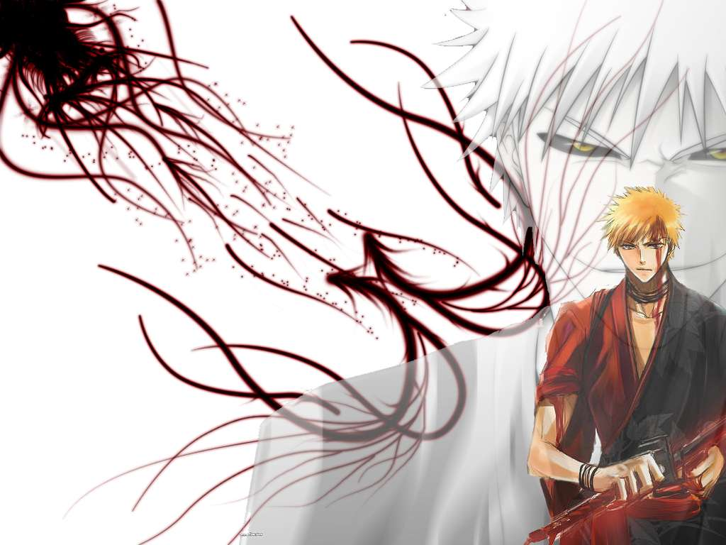 8 cool hollow ichigo wallpapers | daily anime art