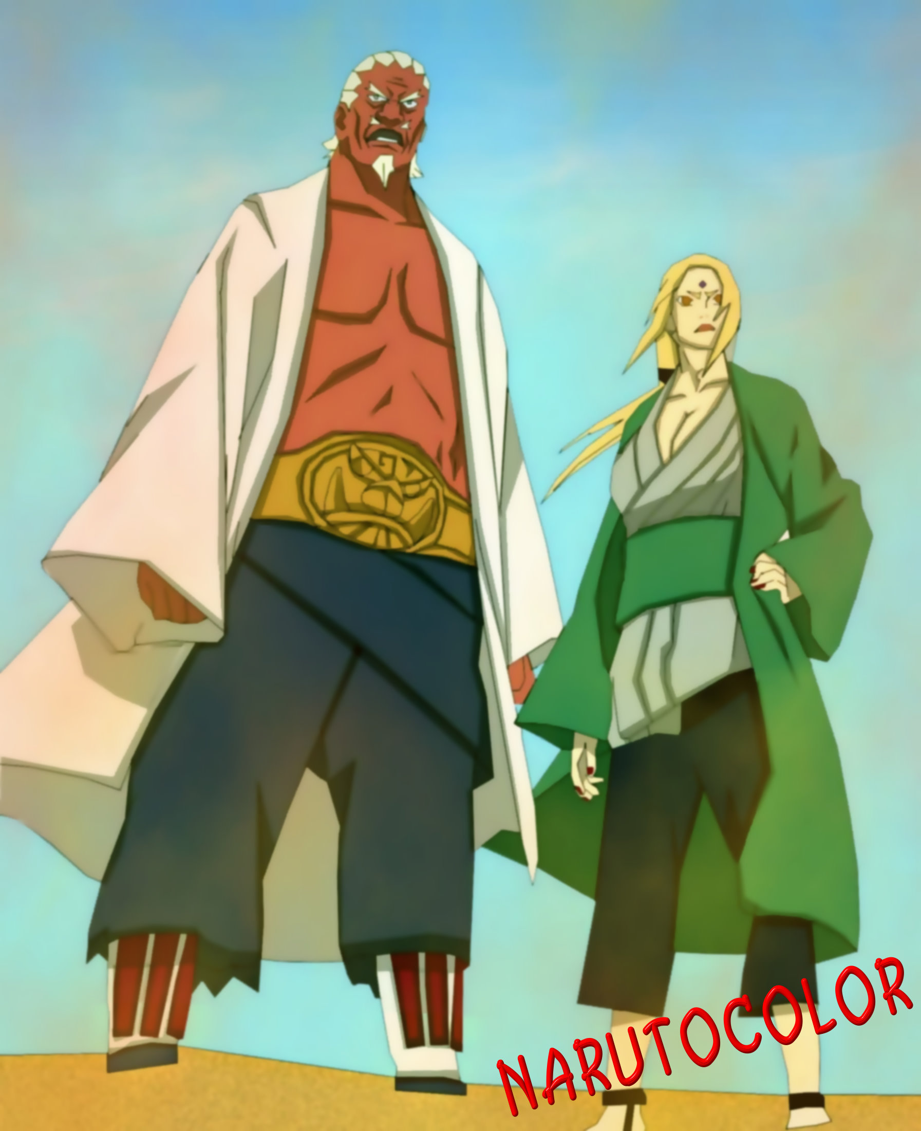 Tsunade And Raikage Arrive To Fight Madara Uchiha And Muu