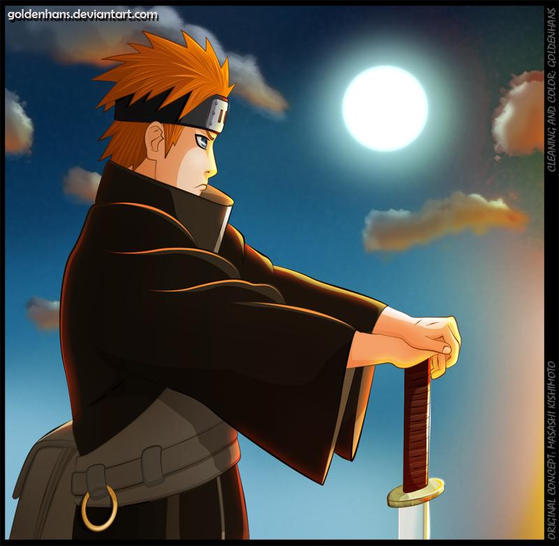 Pain Naruto Wallpaper: Yahiko – Akatsuki And Team Jiraiya