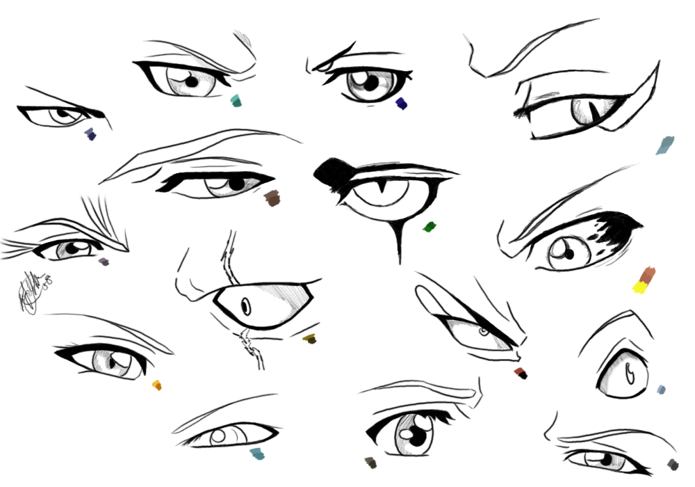 Eyes Of All Bleach Characters