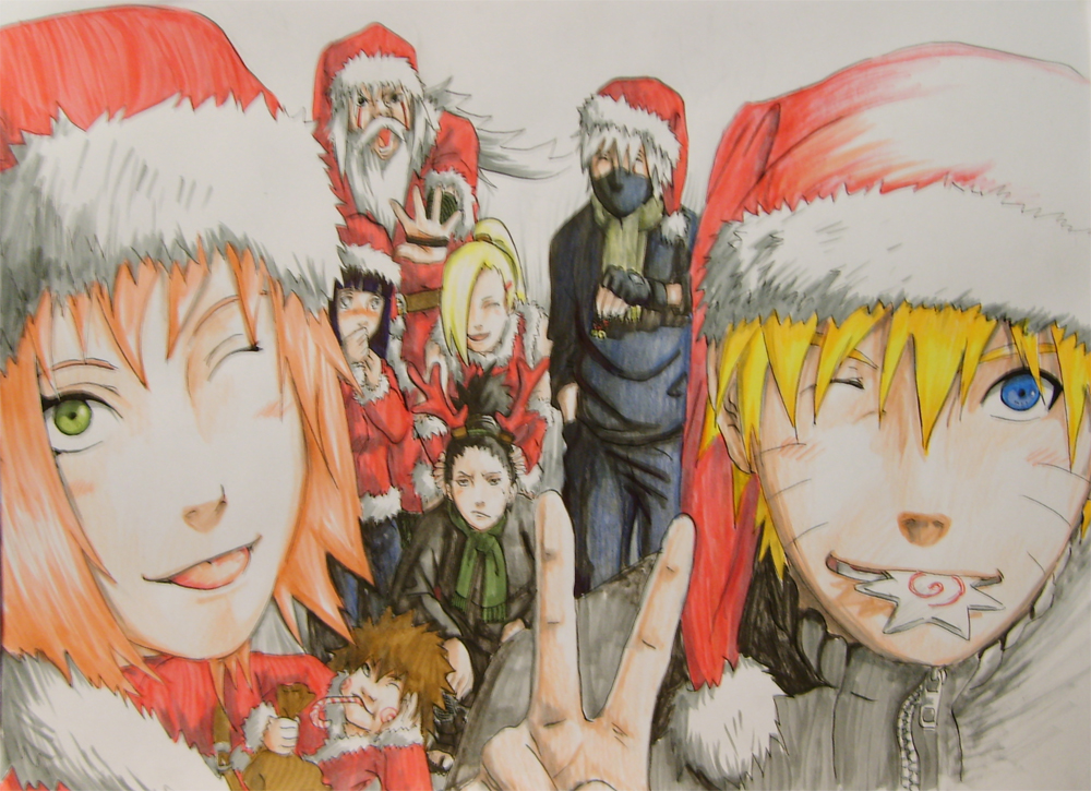 christmas anime naruto - photo #9