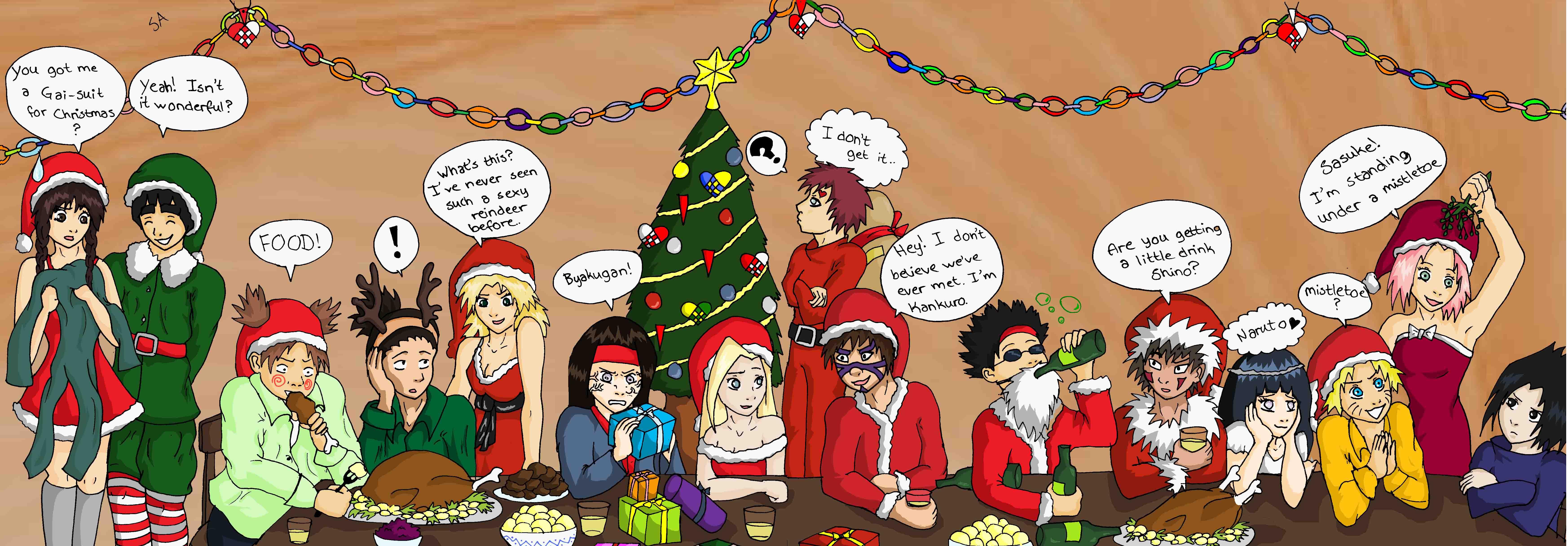 advertisements - Naruto Christmas