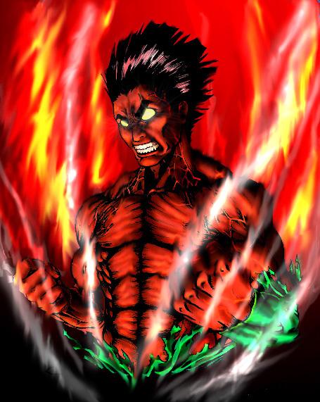 Might guy team guy daily anime art for Gai sensei 8 portes