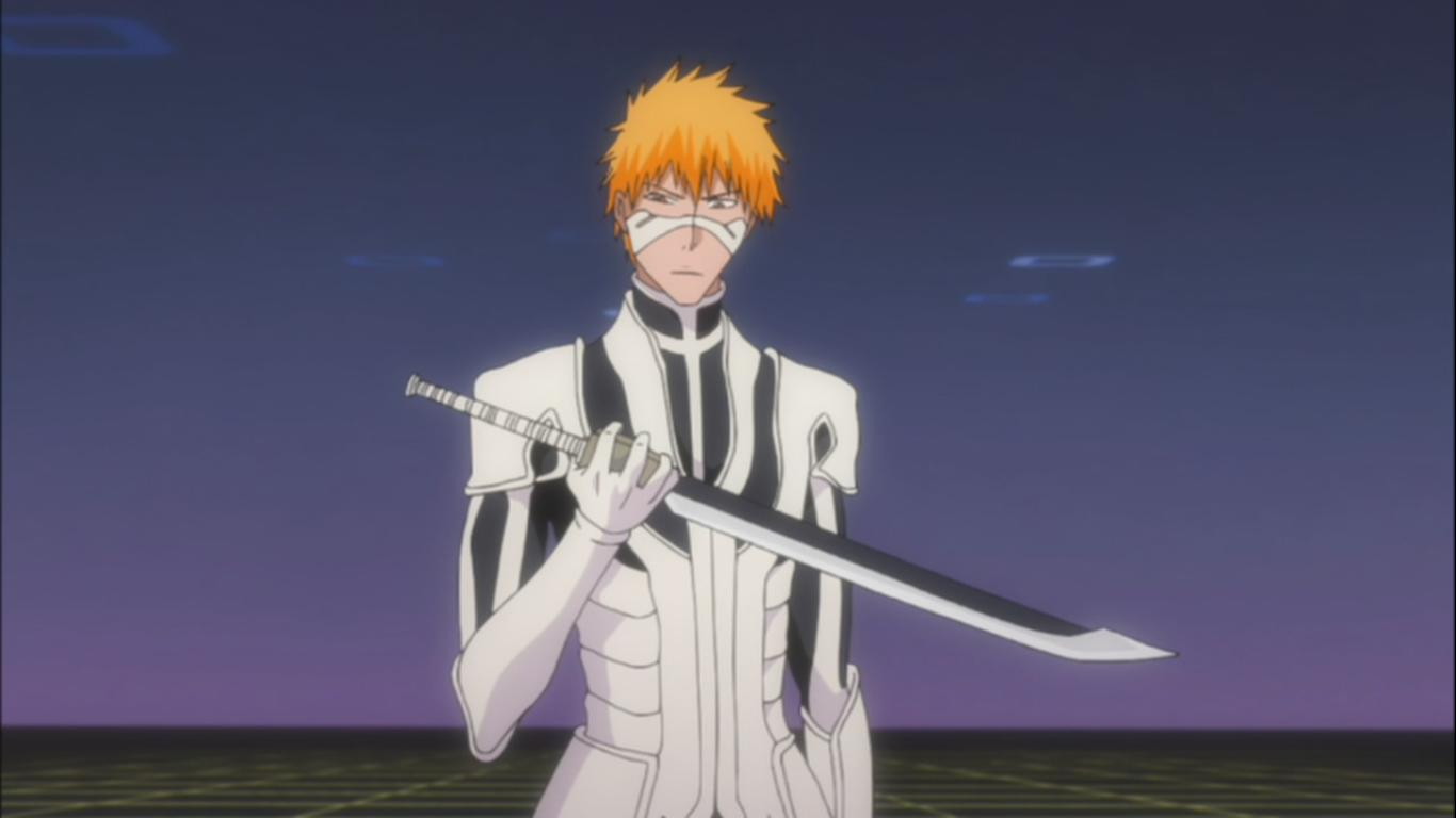 Ichigos Full Fullbring Form Bleach 358