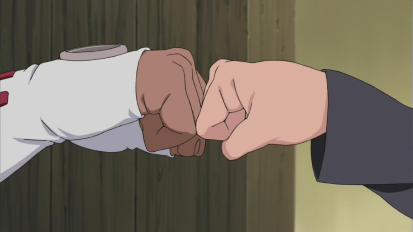 ♕ SPIRIT BRINGERS: EMPYREAN REALM. (SAGA DE VALAFLAM) - Página 9 Naruto-killer-bee-fist-bump