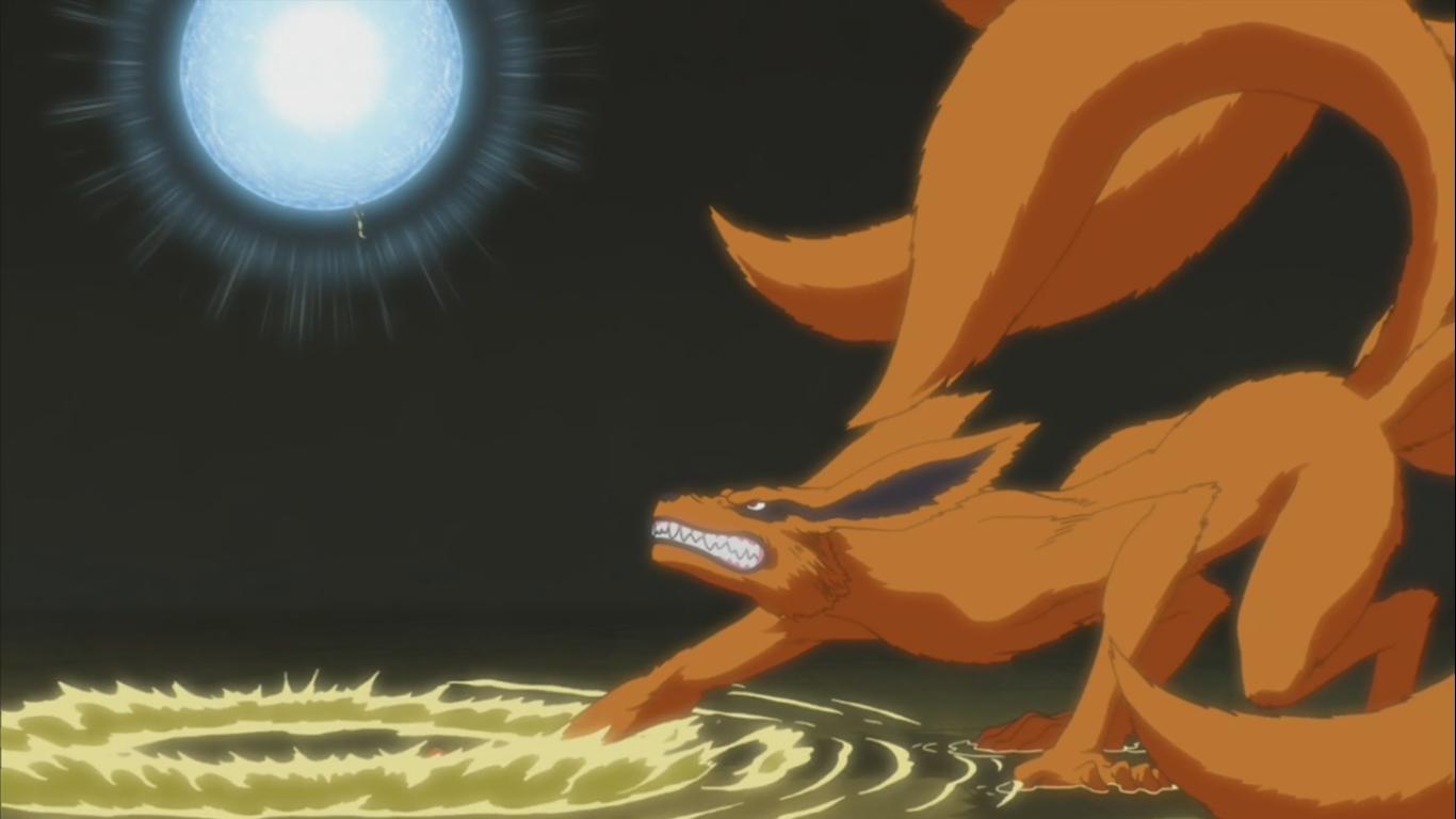 Naruto vs Kurama – Chakra Tug of War – Naruto Shippuden ...