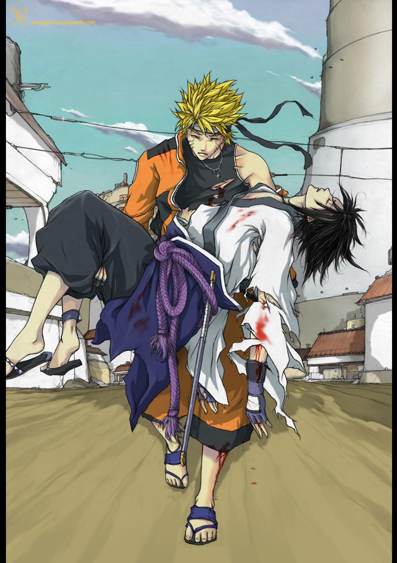 Naruto and sasuke s future daily anime art - Sasuke naruto ...