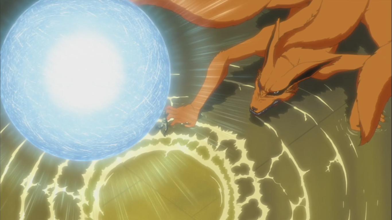 Naruto vs Kurama – Chakra Tug of War – Naruto Shippuden 245