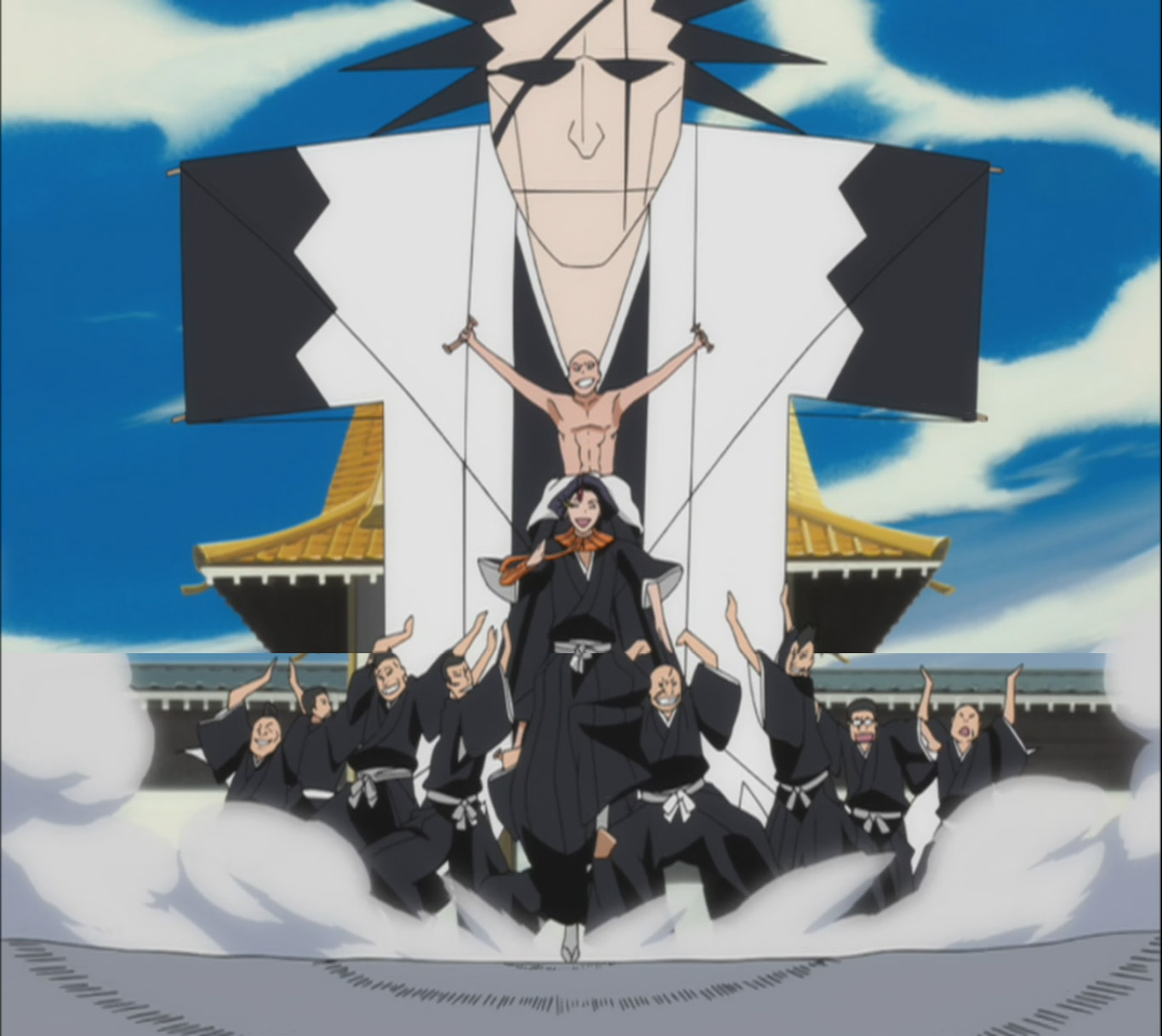 Kite Fight – Bleach 355 New Year Special