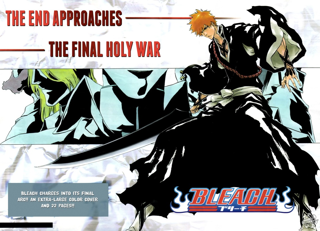 Bleach End Approaches The Final Holy War