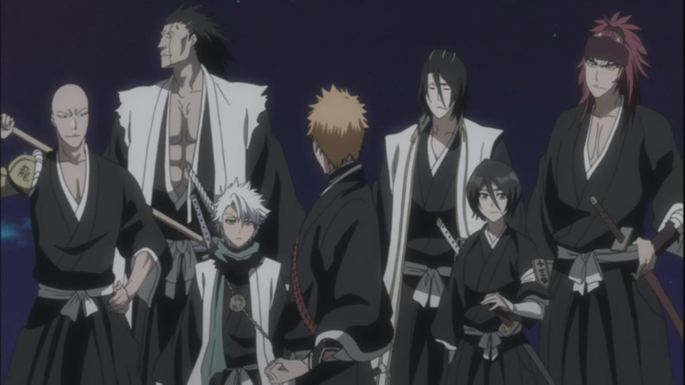 kugo ginjo the first substitute shinigami � bleach 362