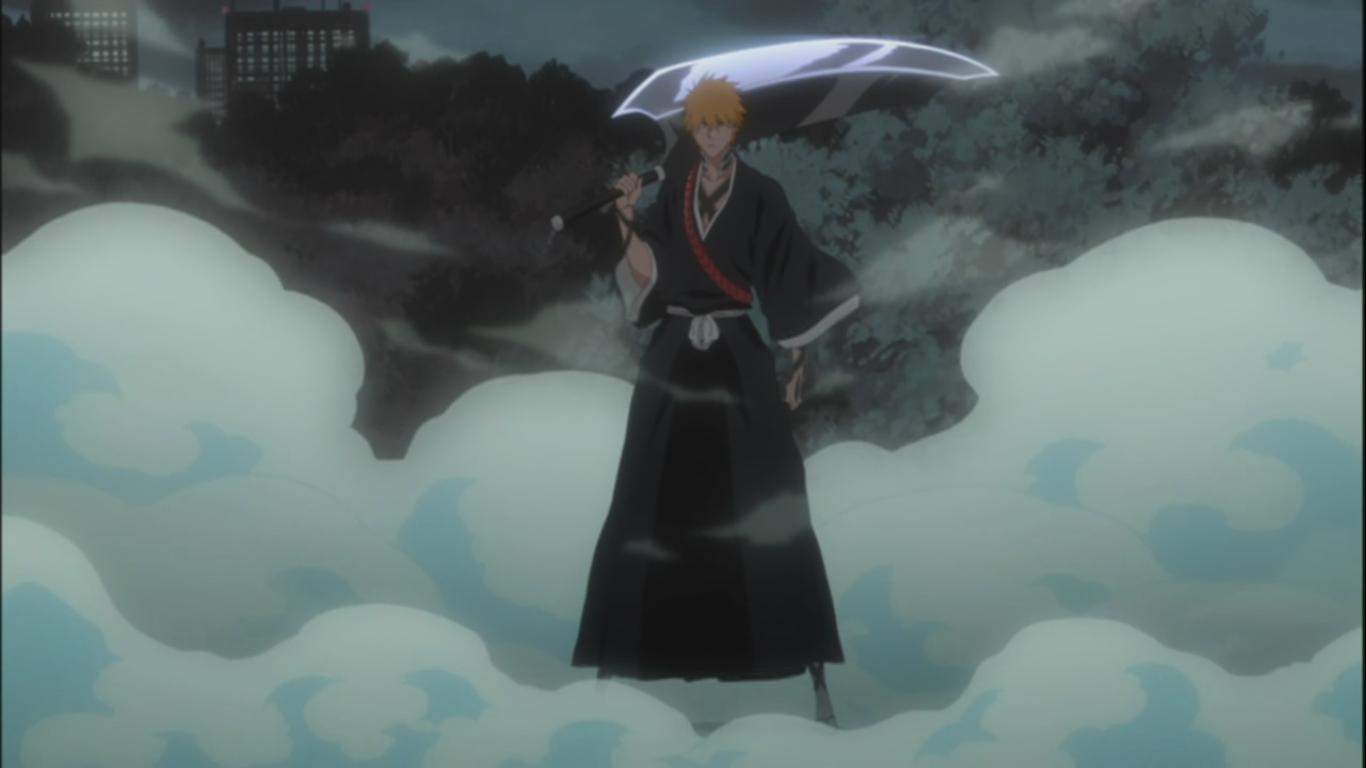 ichigo�s new shinigami look daily anime art