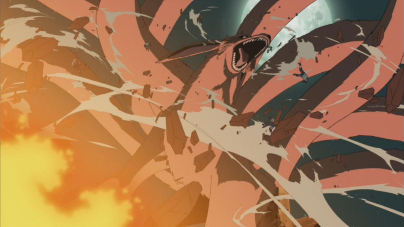 kurama naruto vs whitebeard and his army one piece spacebattles