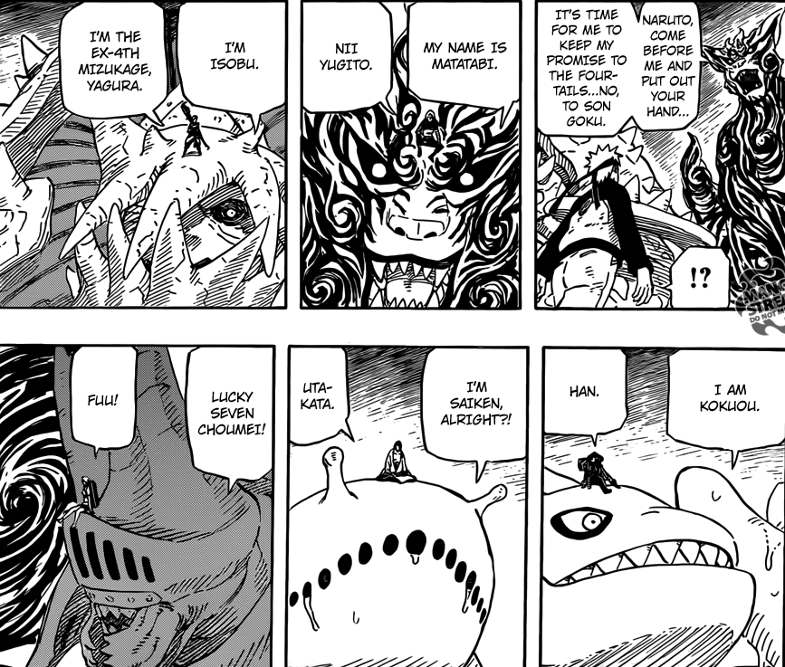 9 Tailed Beasts Names – Naruto 572