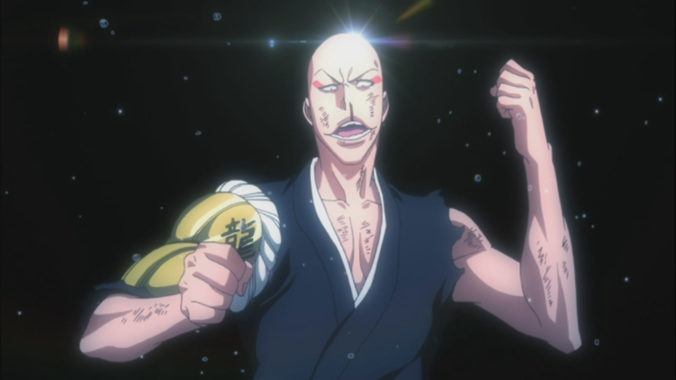 battle begins � renji vs jackie ikkaku vs moe � bleach