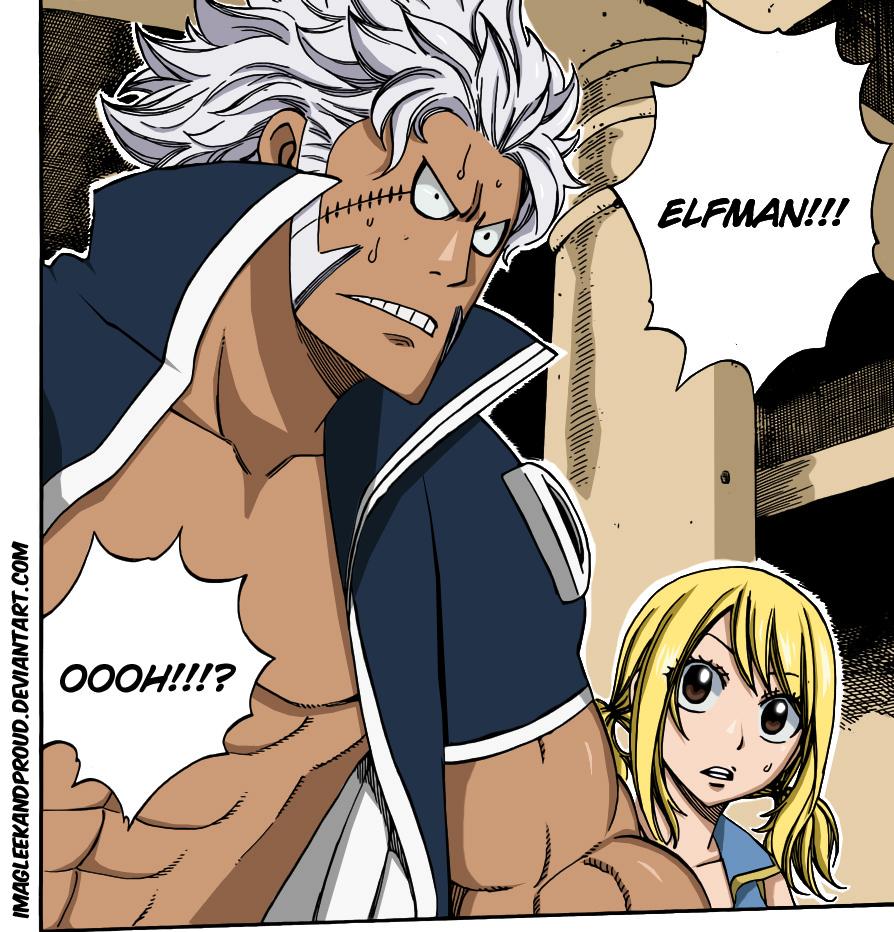 Toby Horhorta vs Kurohebi – Fairy Tail 277   Daily Anime Art