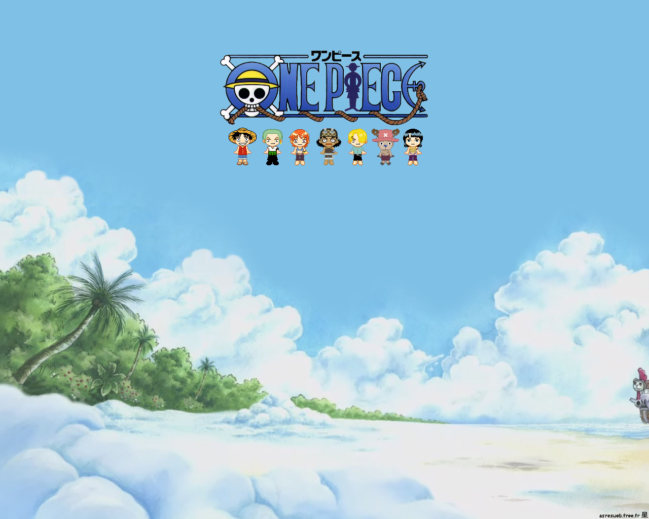Image Result For Anime Wallpaper X One Piece