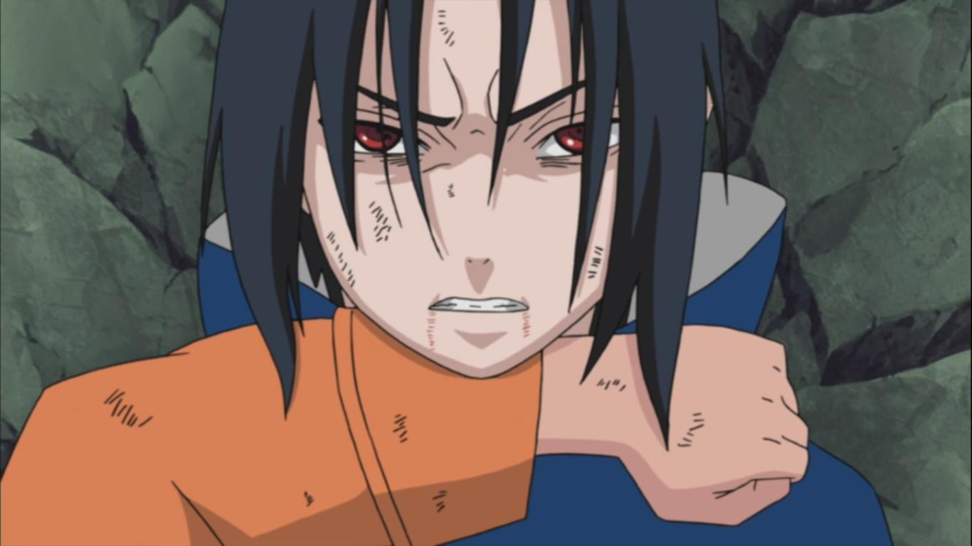 Naruto vs sasuke parting naruto shippuden 260 daily anime art - Naruto and sasuki ...