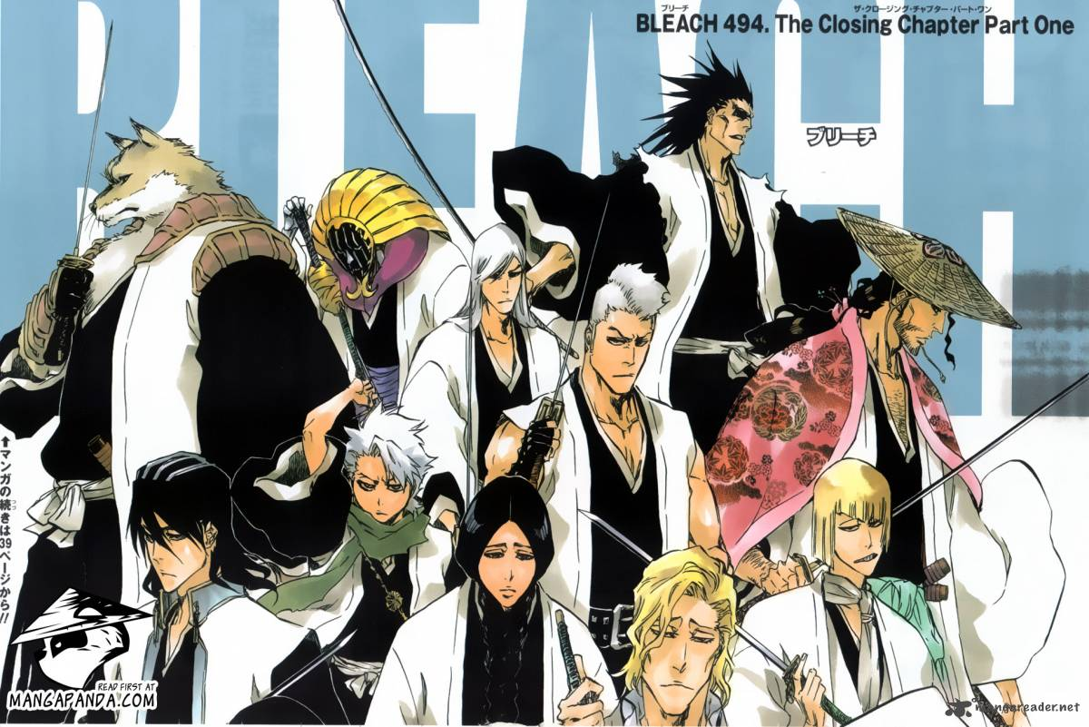 Bleach 494 The Closing Chapter Part One