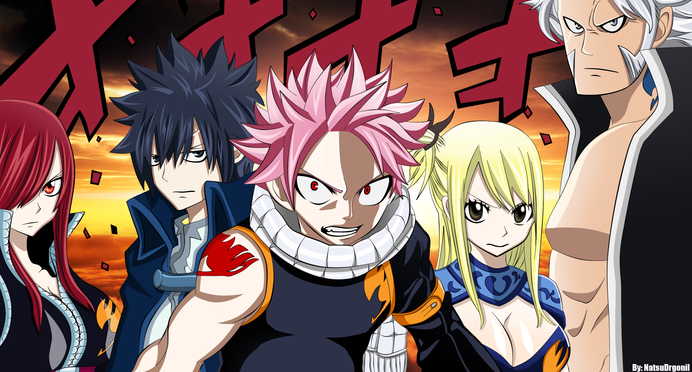 Fairy Tail HD desktop wallpaper High Definition × Fairy
