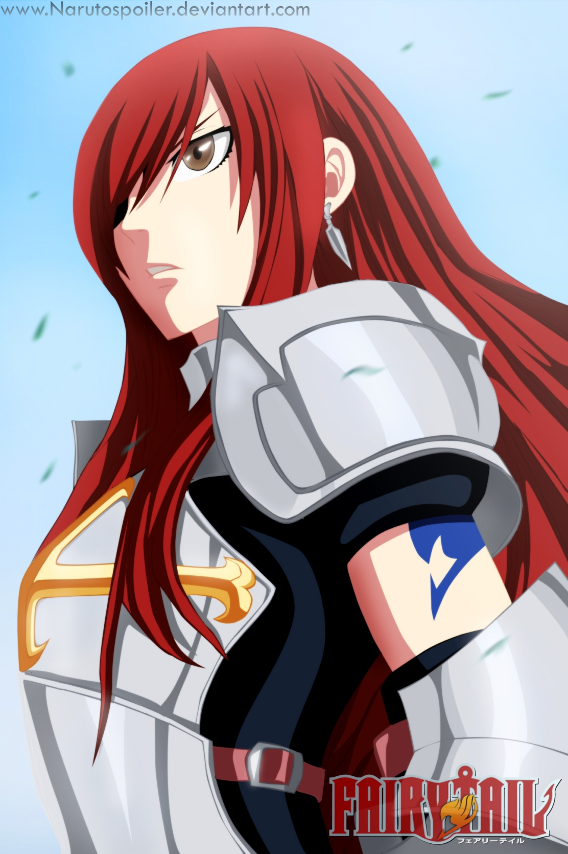 Erza vs 100 Monsters – Fairy Tail 284 | Daily Anime Art