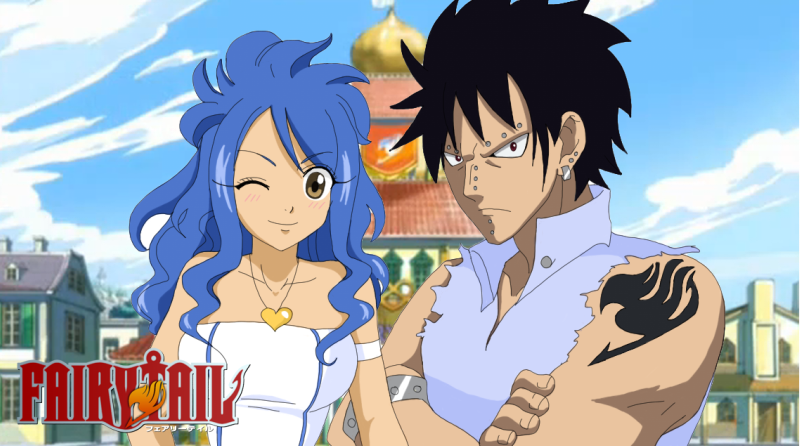 Gajeel and Levy – Fairy Tail | Daily Anime Art