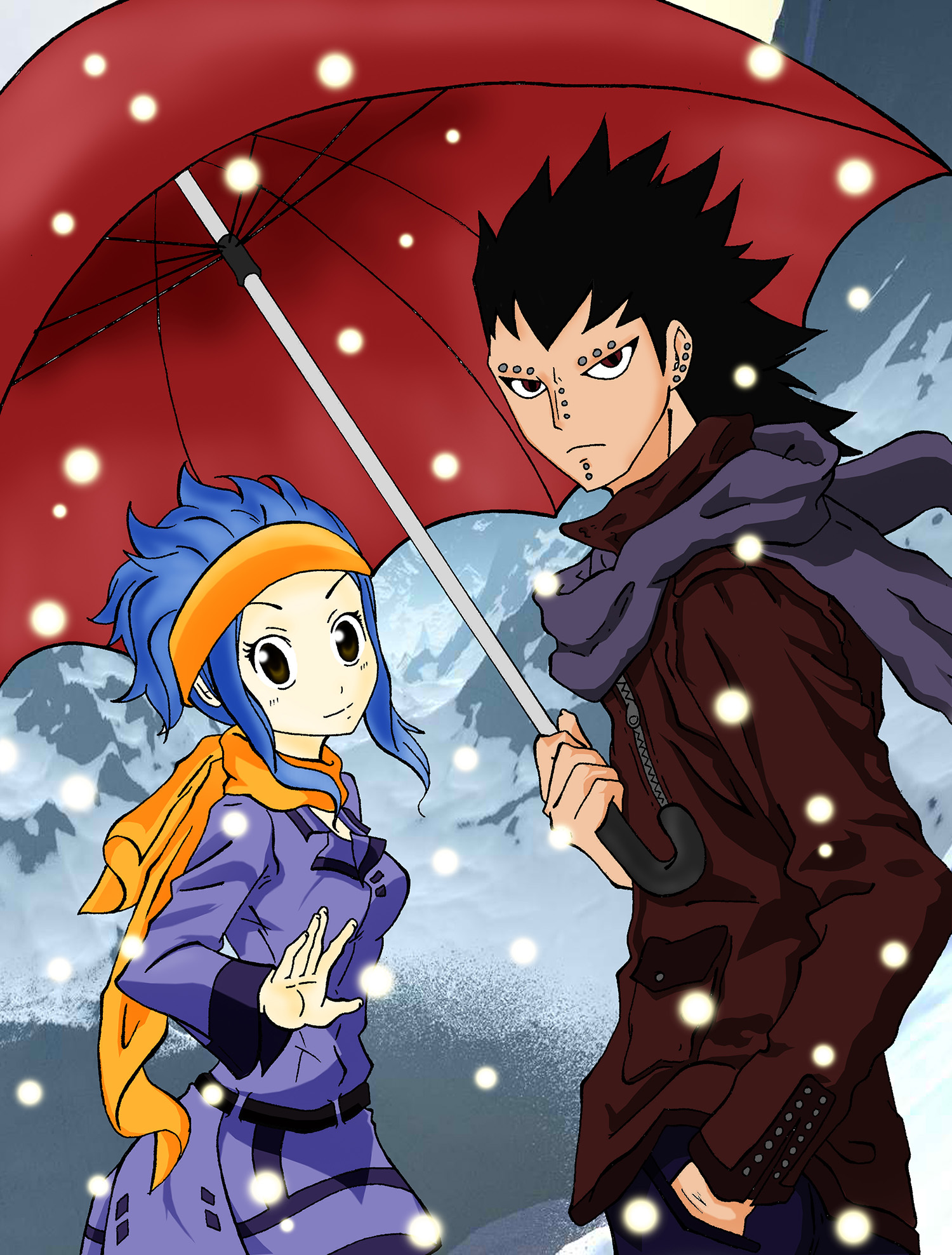 gajeel and levy  u2013 fairy tail