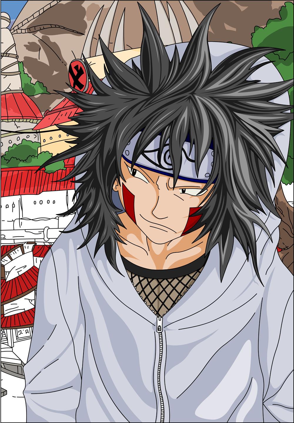 Kiba Inuzuka – Team Kurenai | Daily Anime Art