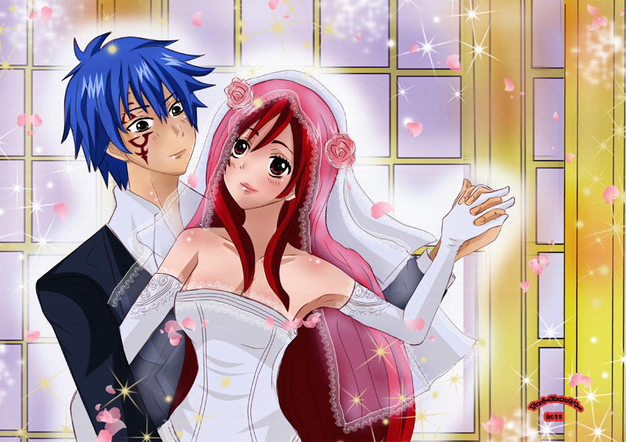 Jellal and Erza Archives | Daily Anime Art