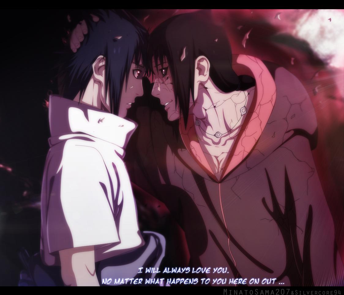 Itachi loves sasuke – edo madara uchiha disappears – naruto 590