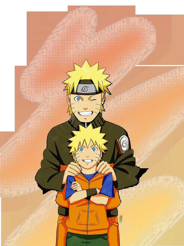 The Kid in Black & Orange – Naruto Uzumaki | Daily Anime Art