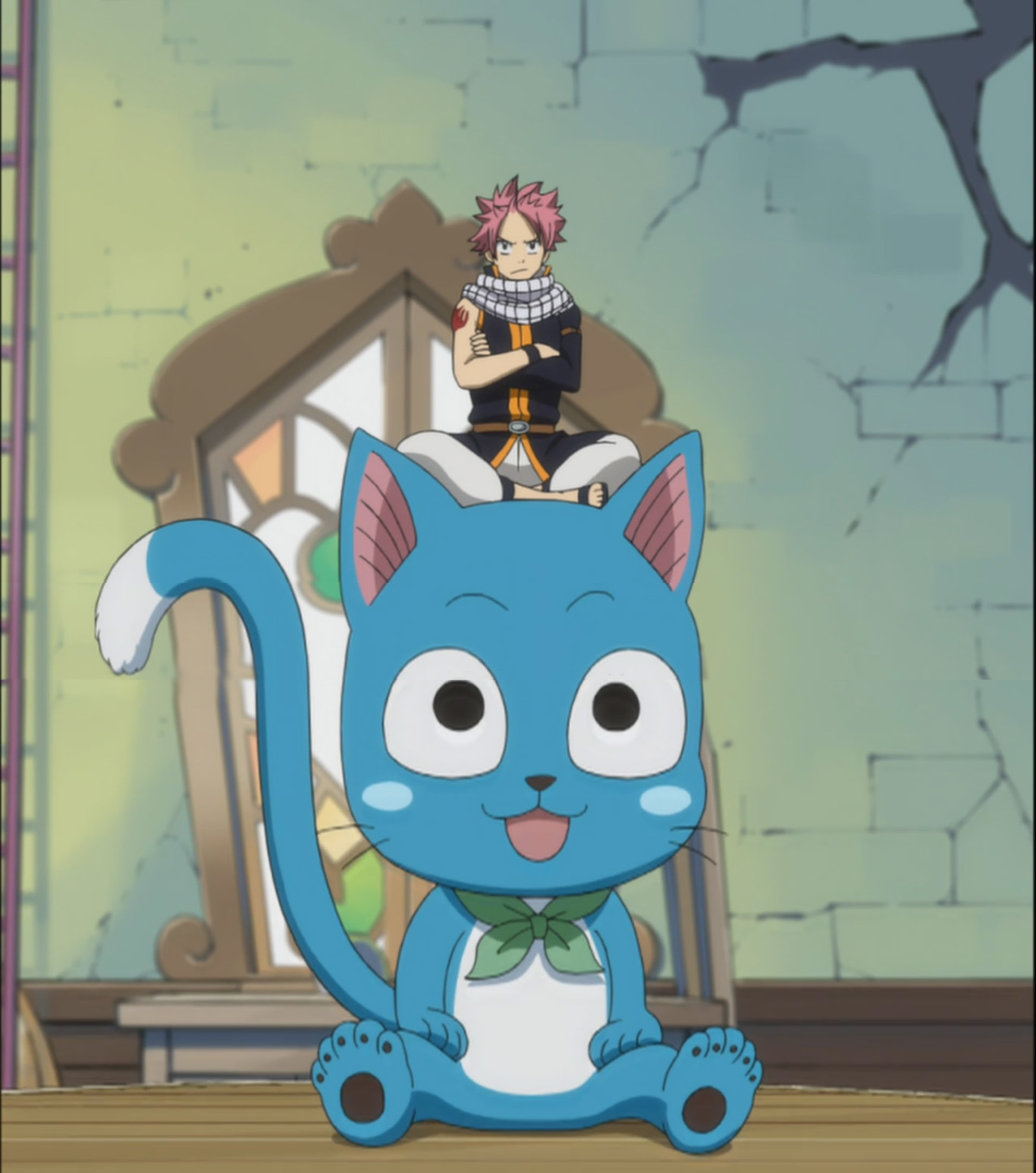 Traveling Companions – Fairy Tail 133 | Daily Anime Art  Happy Fairy Tail Cute