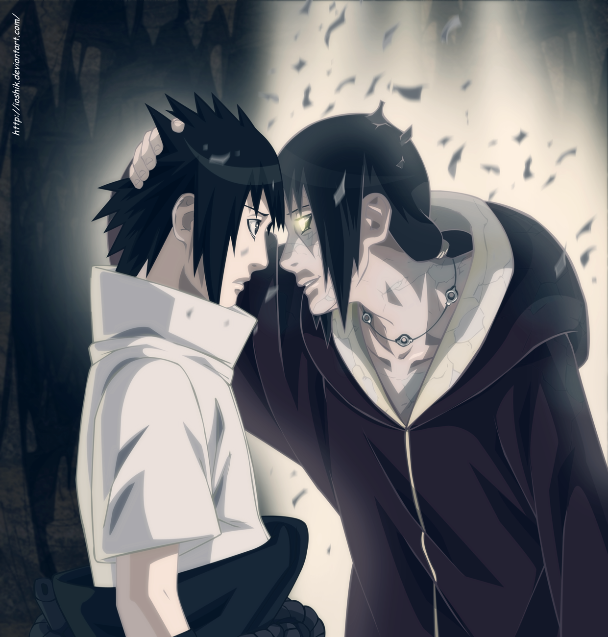 Itachi And Sasuke Vs Kabuto Itachi loves sasuke � edo