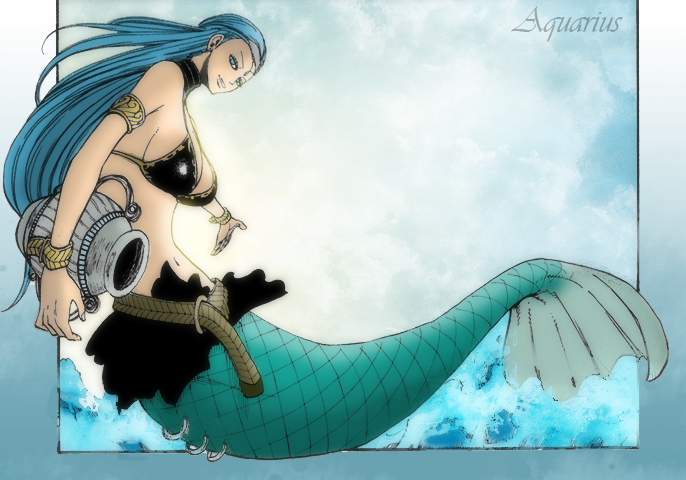 Aquarius – Celestial Spirit – Fairy Tail | Daily Anime Art  Anime Aquarius